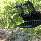 "84"" Skid Steer Root Grapple Bucket Attachment"
