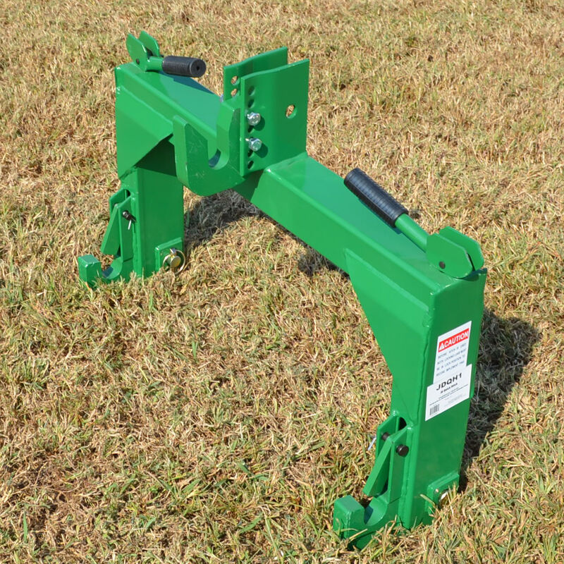 Green Quick Hitch | 3 Point | Cat 1 & 2