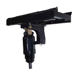 Skid Steer Auger Frame & Bracket W/ 4500 PSI Planetary Drive Unit