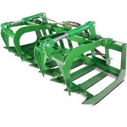 72-in Root Grapple Bucket Fits John Deere Tractor Loaders