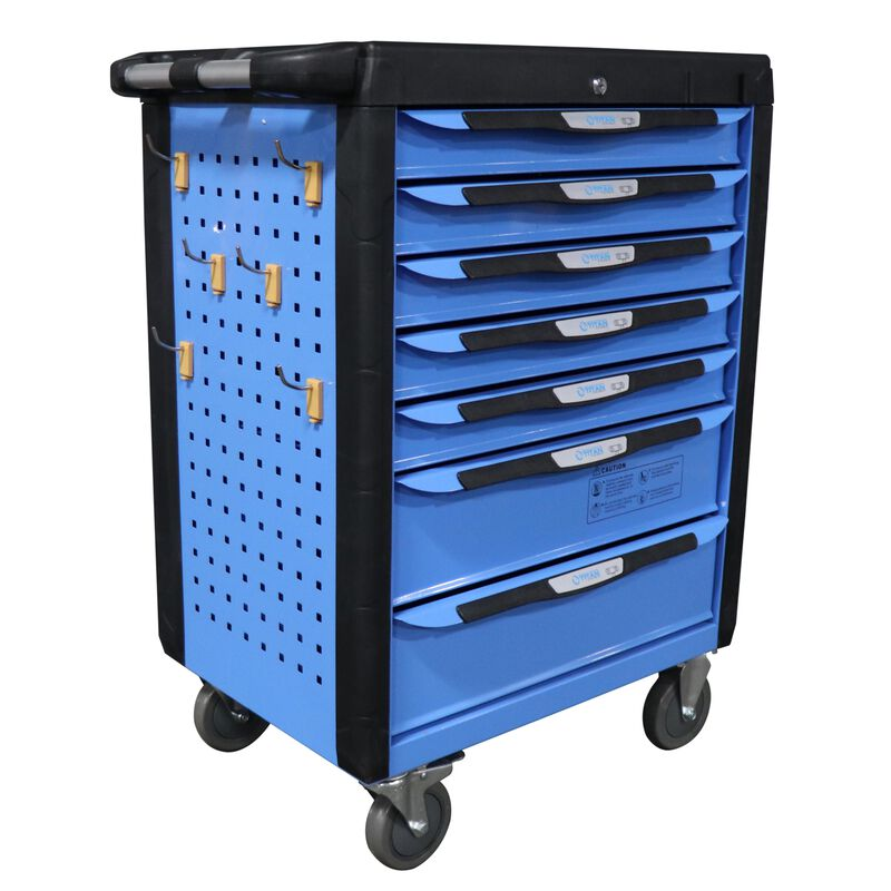 """32"""" 7 Drawer Mobile HD Tool Chest Cabinet"""