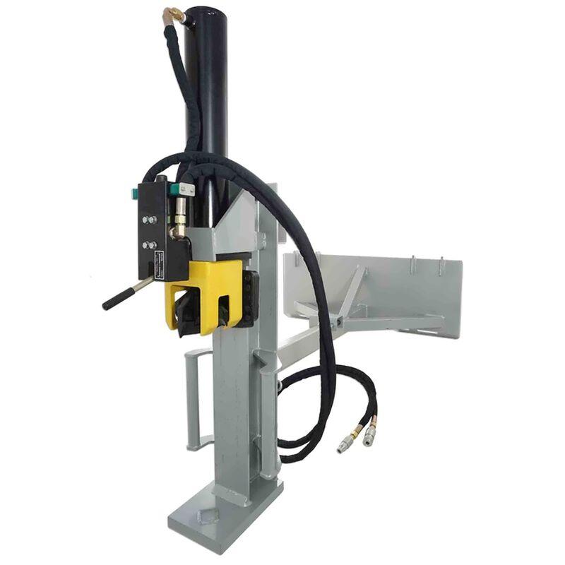 30 Ton Skid Steer Hydraulic Log Splitter Attachment Pro Duty