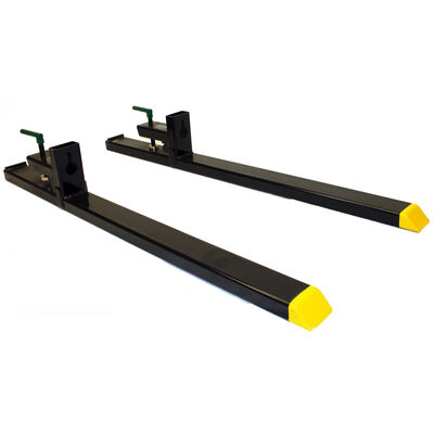4000-Pound Capacity Clamp-on Pallet Forks for Tractor/Loader, Skid Steer Bucket | Pair