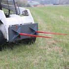 """UA 39"""" Skid Steer Dual Hay Spear Mount Plate"""