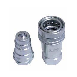 "1/2"" Hydraulic Couplers Ag Quick Interchange 4050-4 / 8010-4 NPT"