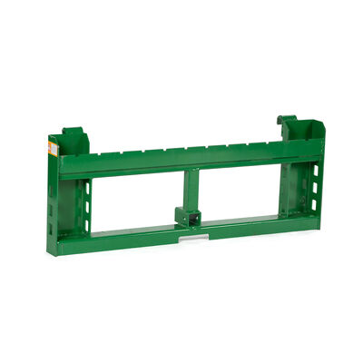 """Titan 50-in Pallet Fork Attachment with 2"""" Receiver Hitch fits John Deere Loader"""