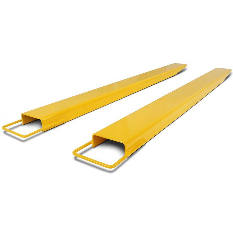 "72"" Pallet Fork Extensions forklift lift truck slide on clamp FX72 4.5"""