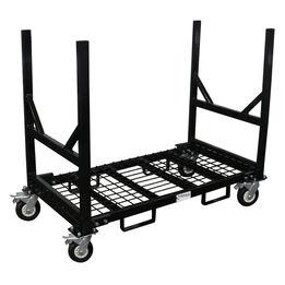 Mobile Industrial Bar Cradle Cart   2,500 LB Capacity