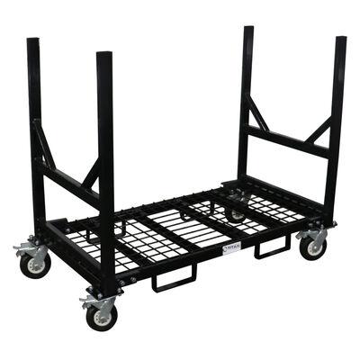 Mobile Industrial Bar Cradle Cart | 2,500 LB Capacity