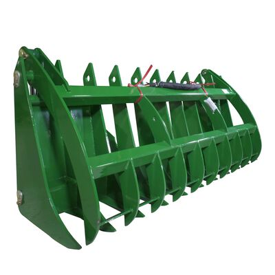 "84"" Grapple Rake Attachment Fits John Deere Global Euro Loaders"