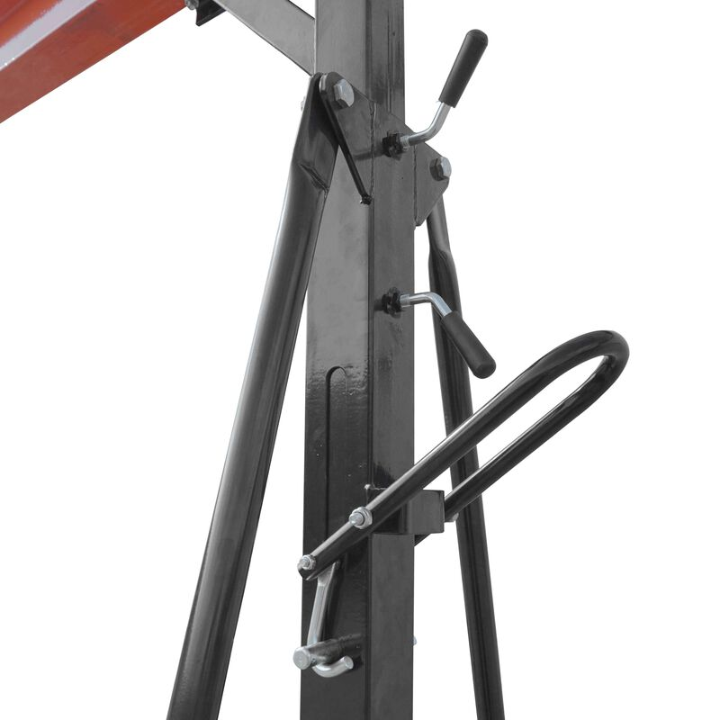 2 Ton Adjustable Steel Gantry Crane Shop Lift
