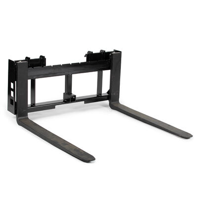 45-in Pallet Fork Frame Attachment With 2-In Trailer Receiver Hitch