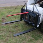 "UA 49"" Hay Frame with Stabilizer Spears and Rack with Hitch 