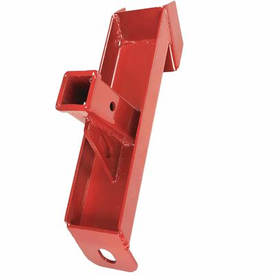 """Trailer Hitch Receiver Skid Steer Quick Tach Towing Adapter for 2"""" Insert Ball"""