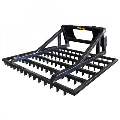 Titan 6 FT Terra Monster Dirt Grader and Leveler for Seeding