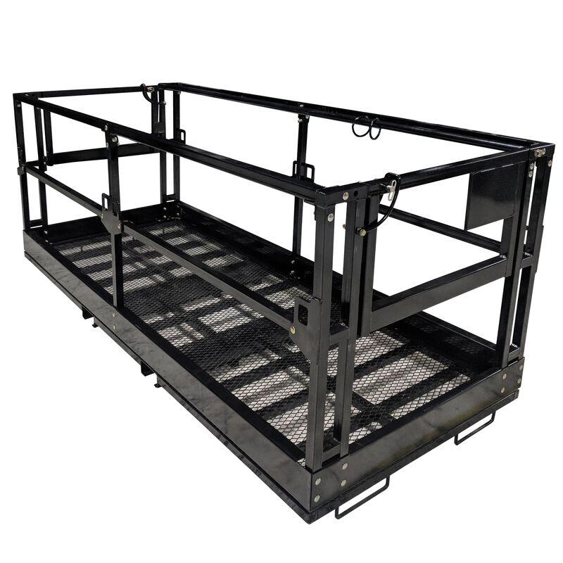 "4'x9' 8"" Telehandler Work Platform Man Basket"