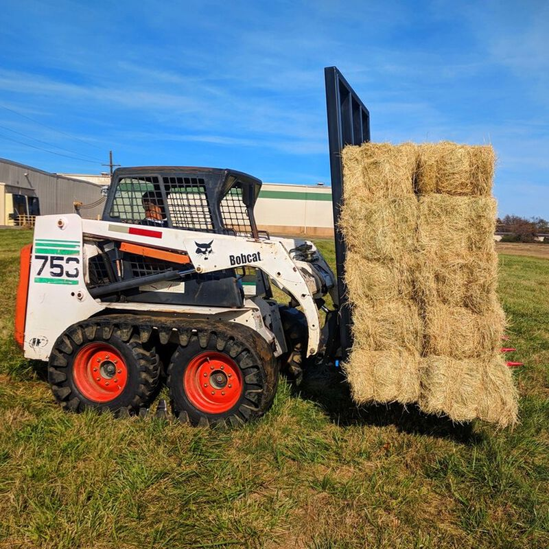 "Tall Hay Frame w/ 49"" C2 Hay Spears"
