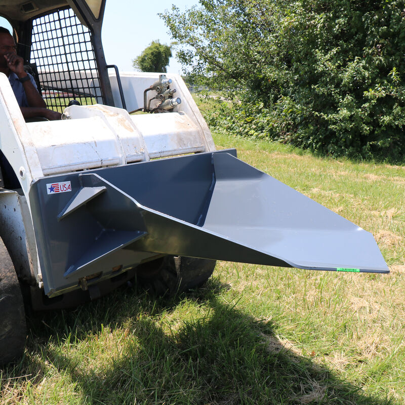 "40"" Tree Spade For Skid Steers Quick Tach 