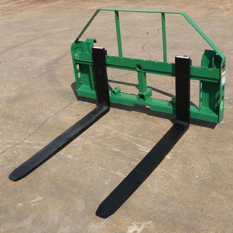 "Pallet Fork Frame | Fits John Deere | 2"" Hitch | 42"" Forks | Headache Rack"