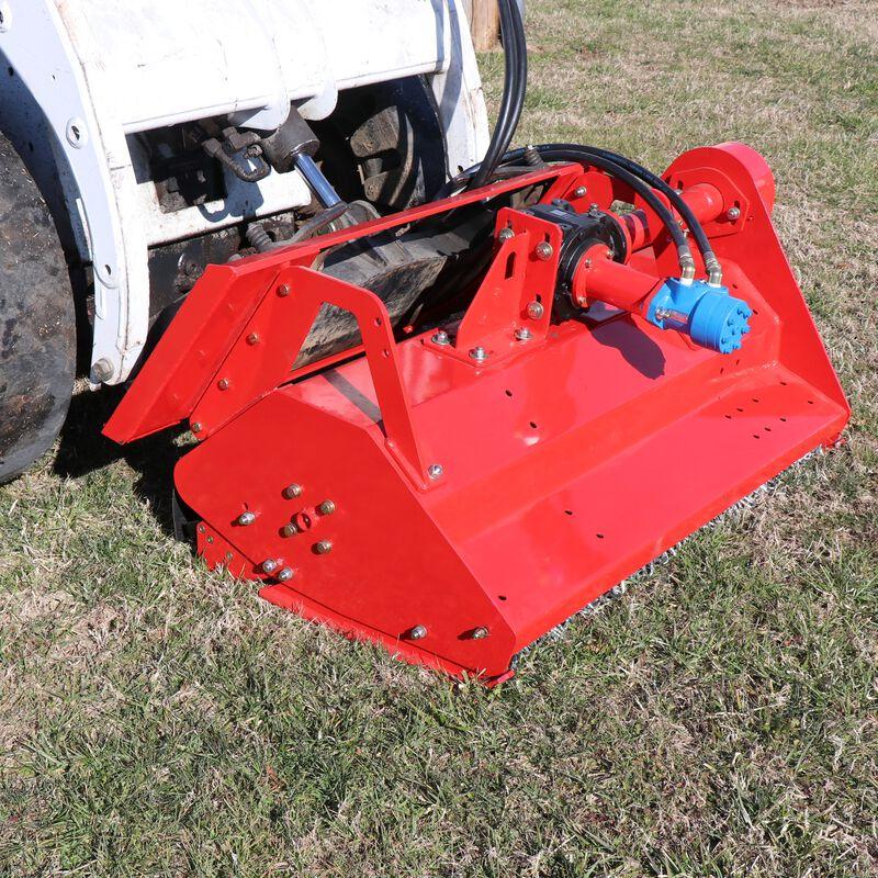 "48"" Hydraulic Skid Steer Flail Mower"