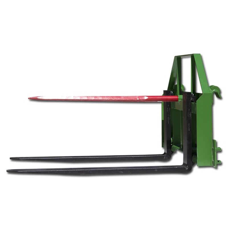 42-in Pallet Fork Hay Spear Attachment Fits John Deere