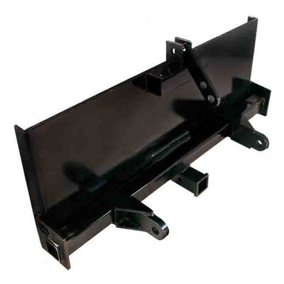 Skidsteer 3 Point Attachment Adapter Skid Steer hitch front loader 129 LB HD