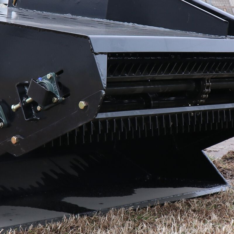 "72"" Hydraulic Skid Steer Landscape Rake"