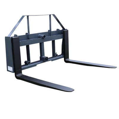 "UA 36"" Pallet Fork Frame Attachment with Headache Rack and Hitch 