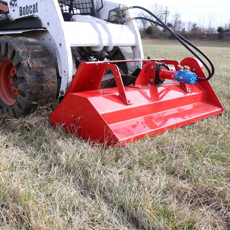 "60"" Hydraulic Skid Steer Flail Mower"
