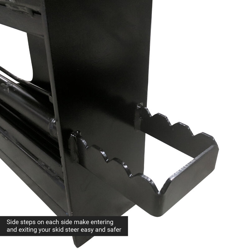 Adjustable Hydraulic Skid Steer Pallet Fork Frame