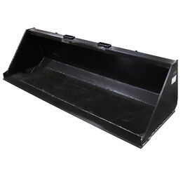 """78"""" Skid Steer Bucket Attachment 1/8"""" Thick   V2"""