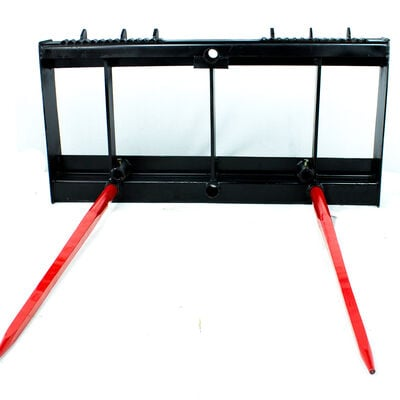 SCRATCH AND DENT - HD Skid Steer Hay Spear Frame Only - FINAL SALE