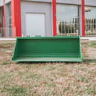 60-in Bucket Attachment 3/16-in Thick Fits John Deere Hook And Pin Tractors