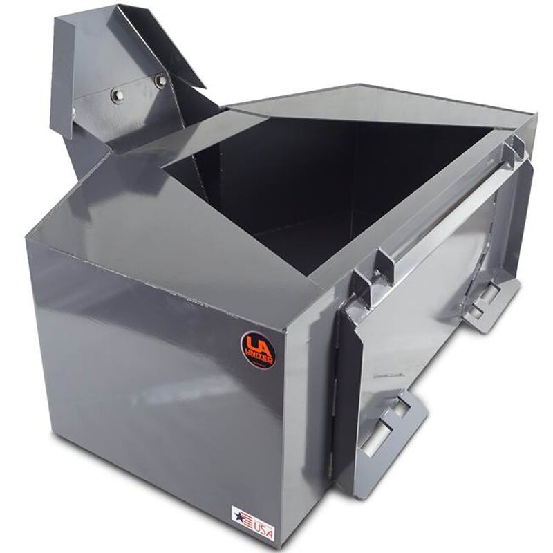 UA Made in the USA Skid Steer 3/4 Yard Cement & Concrete Bucket with Spout