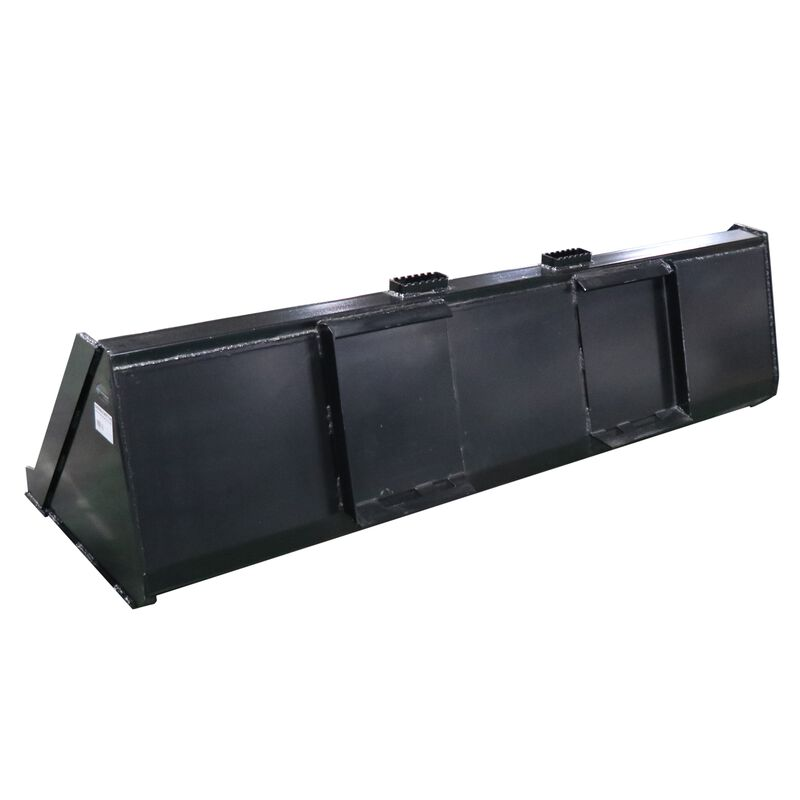 """84"""" Skid Steer Bucket Attachment 1/8"""" Thick 
