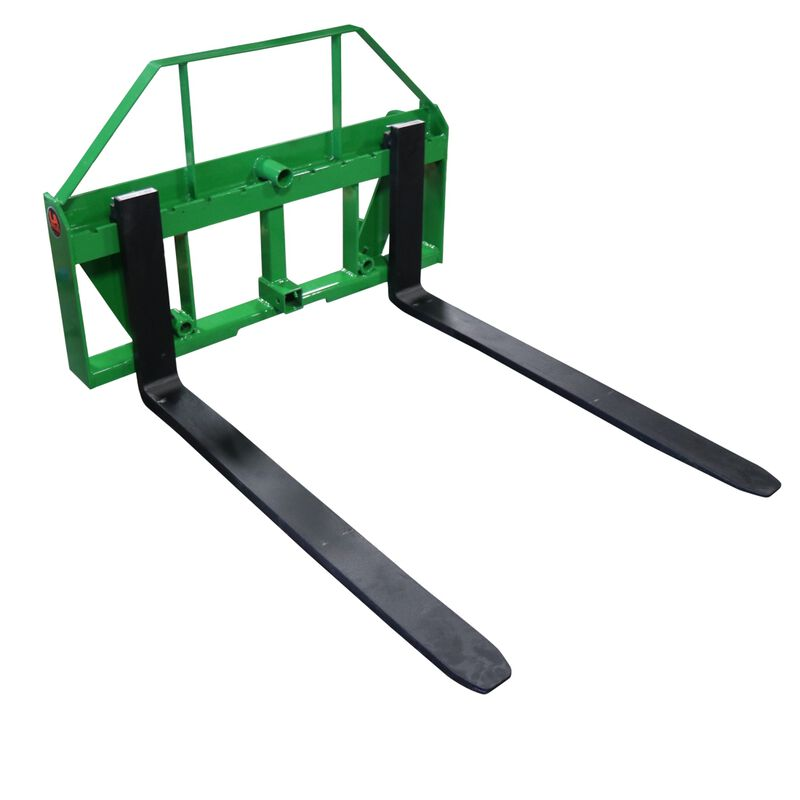 "UA Global 42"" Pallet Fork Frame Attachment with Headache Rack and Hitch 