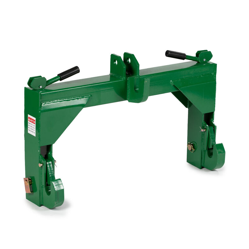 SCRATCH AND DENT - Titan Category 2, 3 Point Green Quick Hitch - FINAL SALE