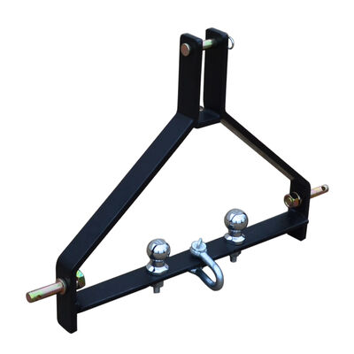 Category 1, 3-Point Tractor Drawbar Trailer Hitch | Quick Hitch Compatible