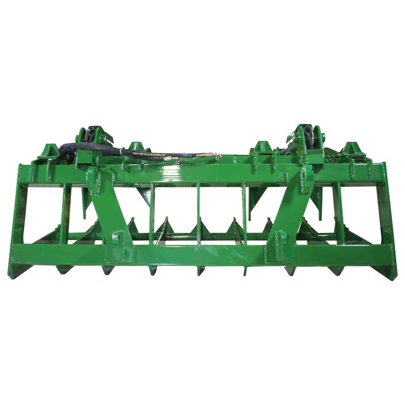 "72"" Root Grapple Bucket Attachment fits Global Euro John Deere Loaders"