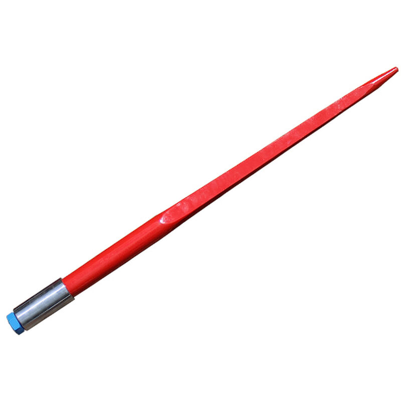 "39"" Square Hay Bale Spear 3,000 lbs capacity, 1 3/4"" wide with nut and sleeve Conus 2"