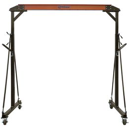1 Ton Adjustable Steel Gantry Crane Shop Lift