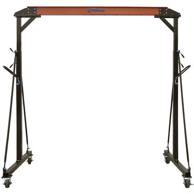 1 Ton Adjustable Steel Gantry Crane Shop Lift