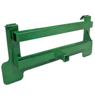 Titan 51-in Receiver Mount Plate Attachment V2 3,000 LB Capacity Fits John Deere