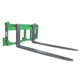 UA Made In The USA 60-in Pallet Fork With 2-in Trailer Receiver Hitch Fits John Deere
