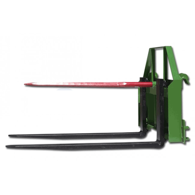 "60"" Pallet Fork Hay Spear Attachment fits John Deere"