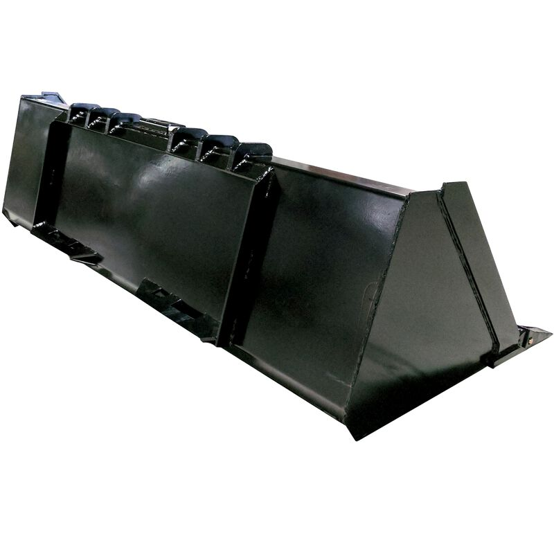 "78"" Heavy Duty Skid Steer Dirt Bucket"