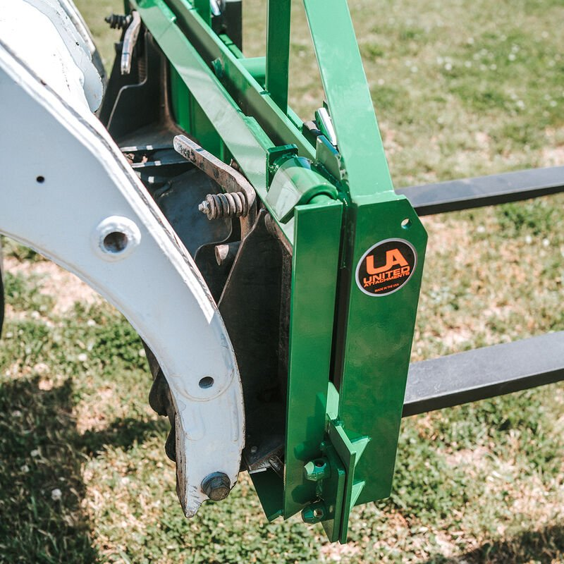 Quick-Tach Adapter – Fits Skid Steer Converts to John Deere