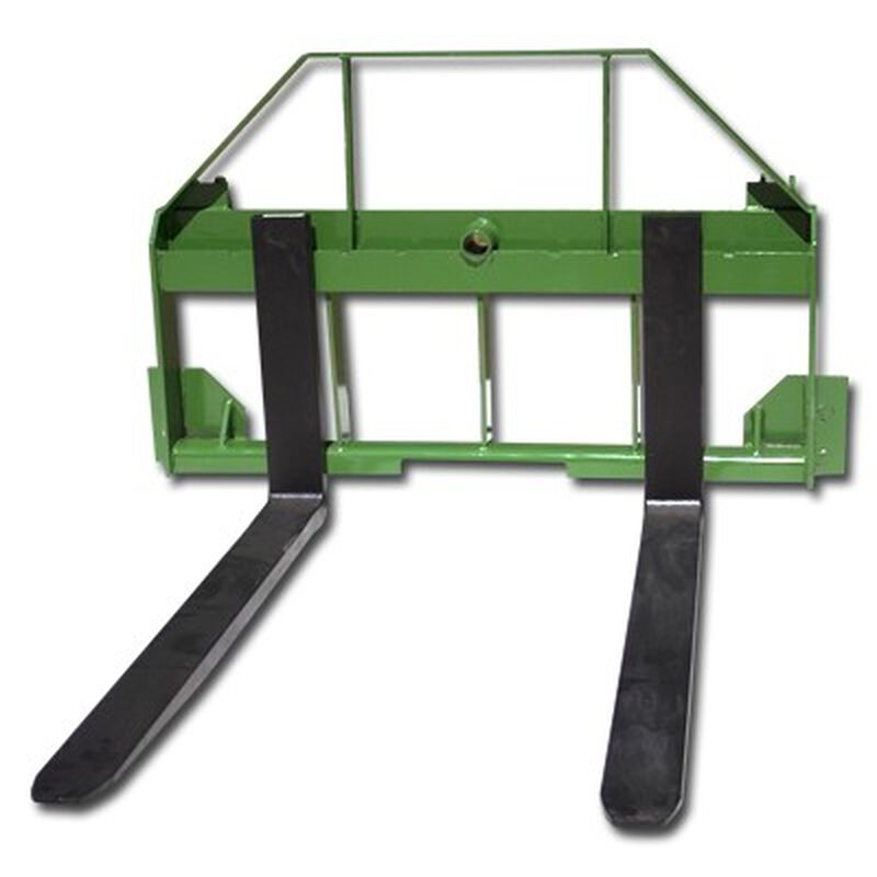 "48"" Pallet Fork Attachment fits John Deere Tractors"