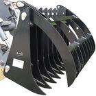 """Titan 72"""" Skid Steer Grapple Rake w/ Pallet Fork Attachment"""