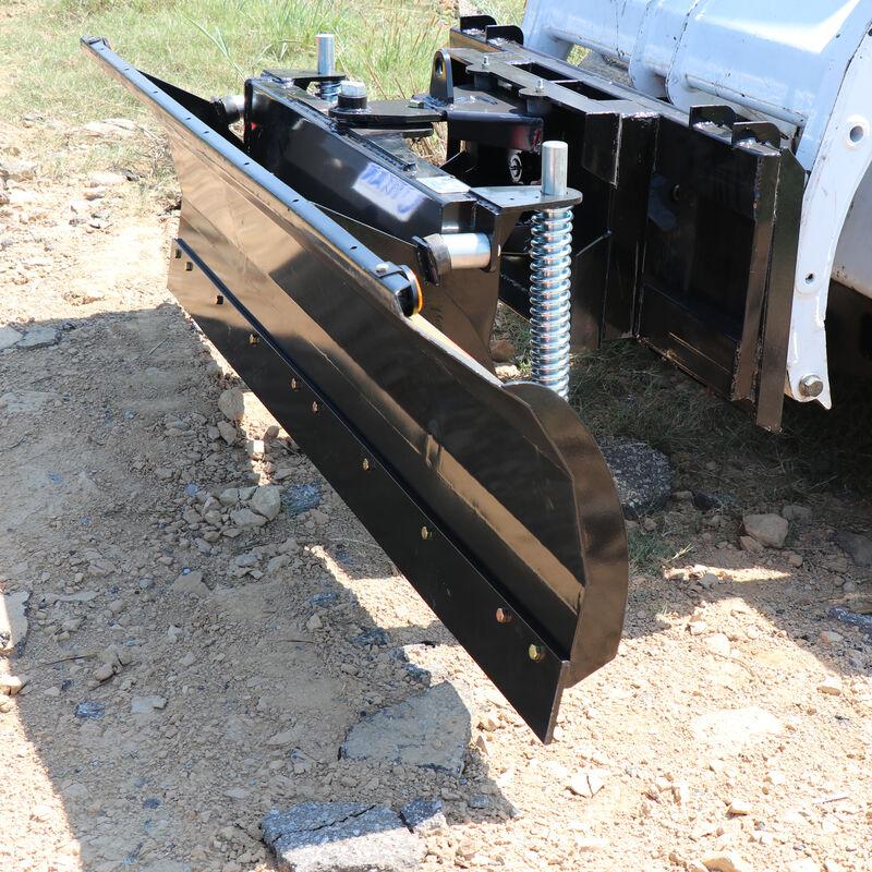 "Manual Rotating 79"" Skid Steer DozerBlade Snow Pusher"